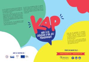 couverture outil KAp - prodij - creation jeu pédagogique